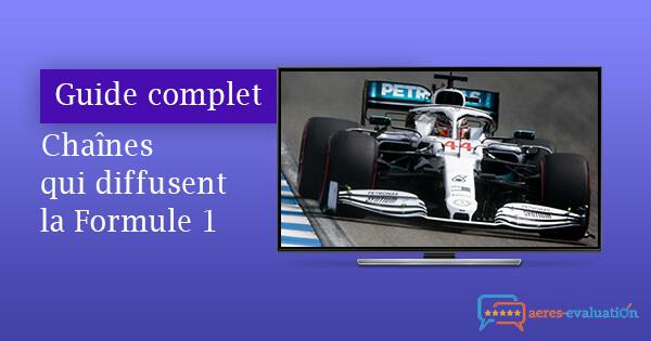 Chaînes diffusent F1