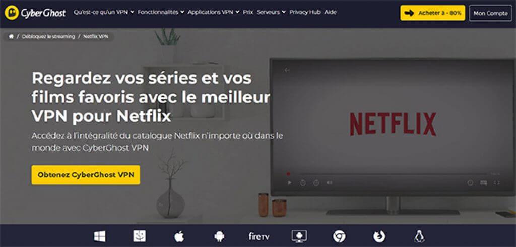 CyberGhost-Netflix