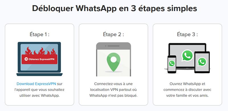 Débloquer WhatsApp