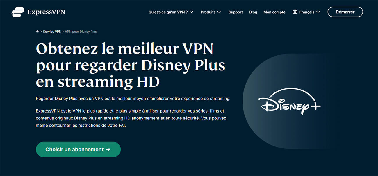 ExpressVPN Disney Plus