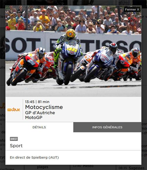 GP Autriche MotoGP RTS