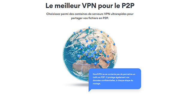 NordVPN P2P