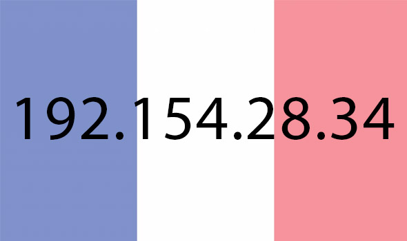 Adresse ip française