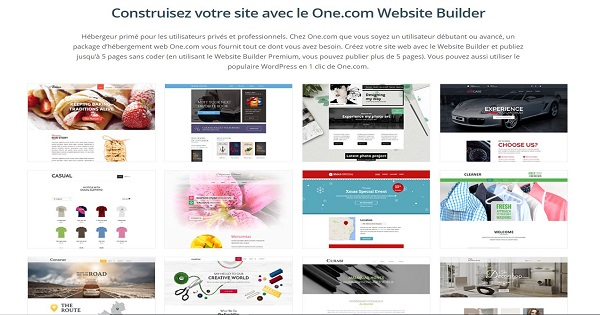 One.com - Website Builder