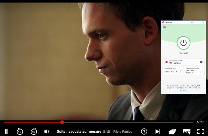 Déblocage de Netflix UK