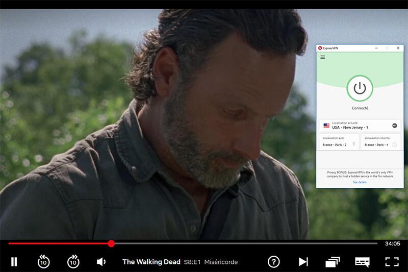 Déblocage de Netflix US