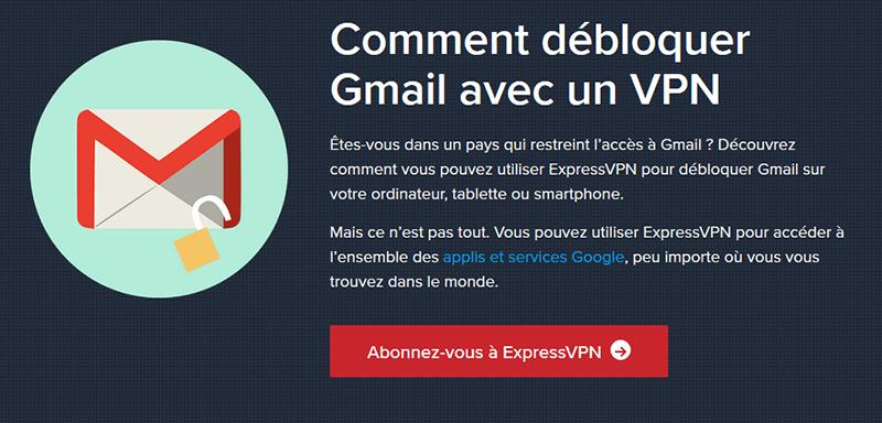 Débloquer Gmail en Chine