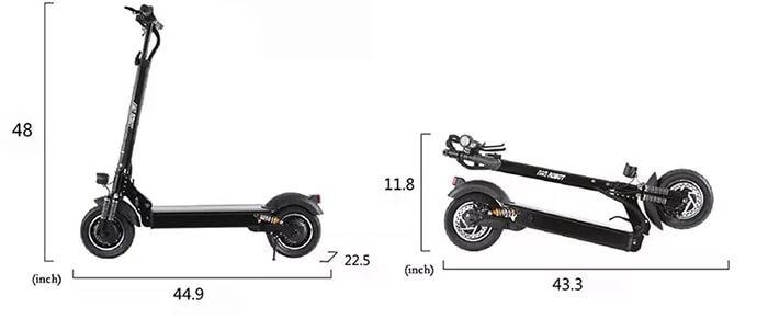 Dimensions Nanrobot D4