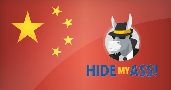 HideMyAss Chine