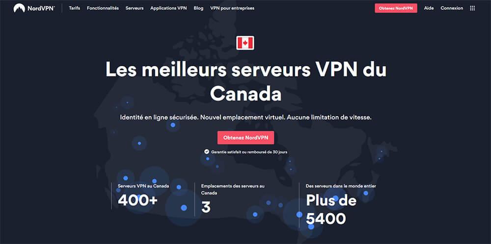 NordVPN VPN Canada