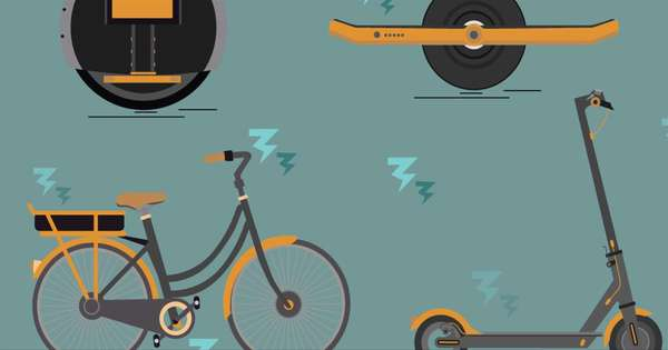 Vélo ou trottinette électrique