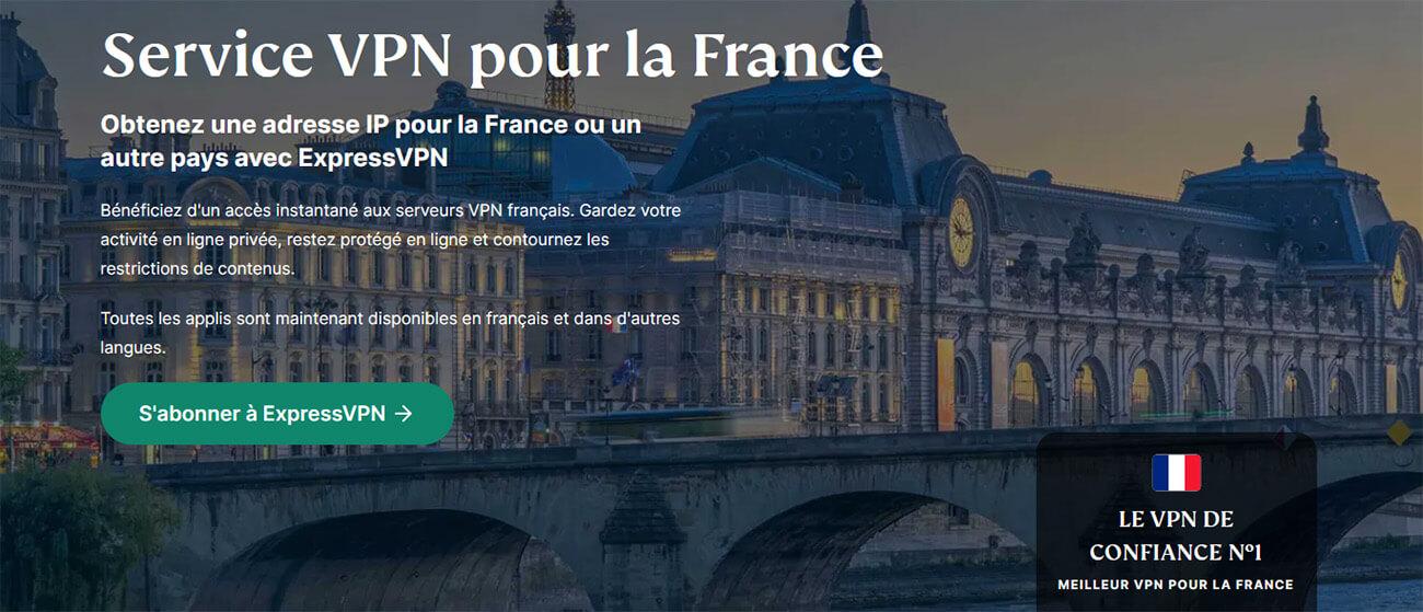 VPN ExpressVPN France