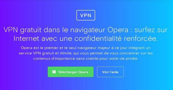 Test Opera VPN