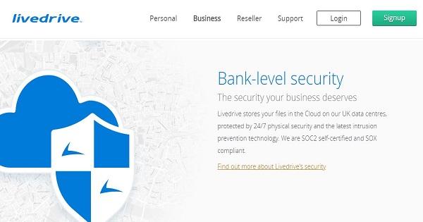Avis-Livedrive-security