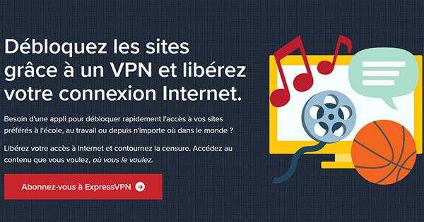 Censure VPN Singapour ExpressVPN