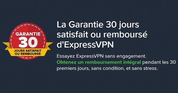 Garantie-ExpressVPN