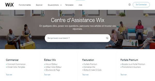 Support-client-Wix