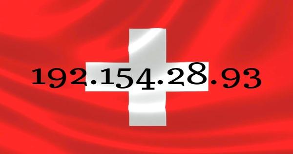 adresse ip suisse