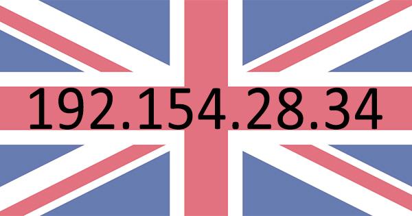 Adresse IP anglaise
