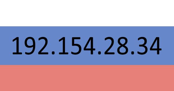 Adresse IP russe