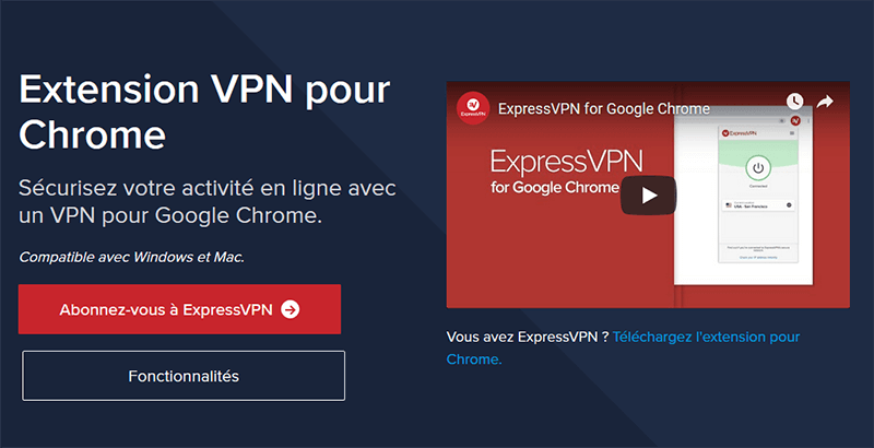 ExpressVPN Google Chrome