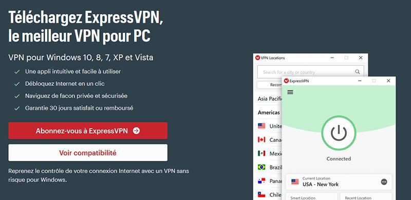 ExpressVPN Windows