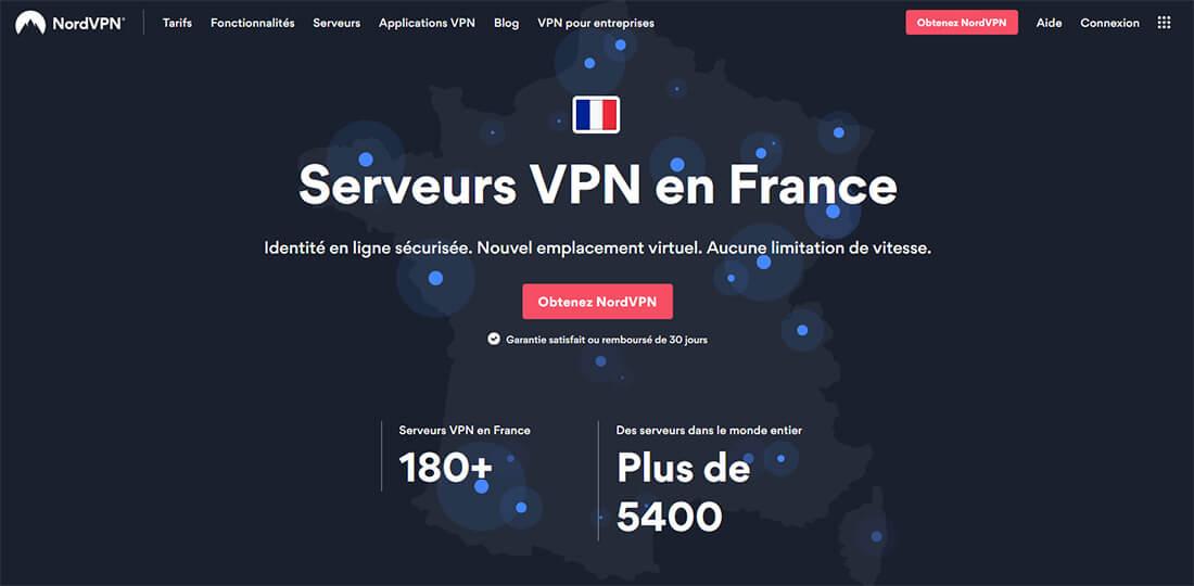 NordVPN VPN France
