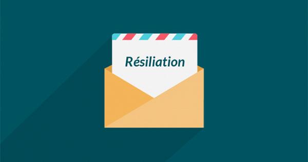 Résiliation