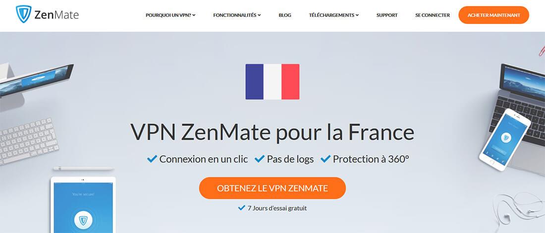 ZenMate VPN France