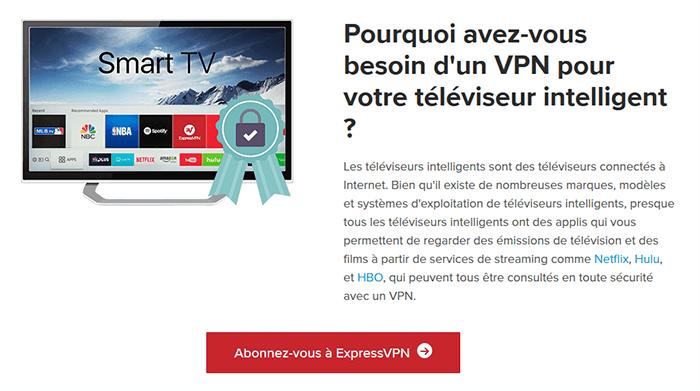 Pourquoi utiliser VPN Smart TV