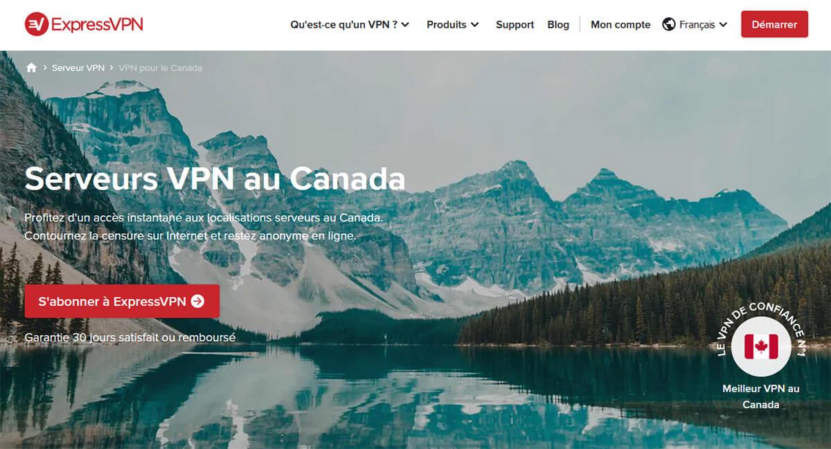 VPN Canada ExpressVPN