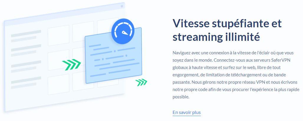 streaming SaferVPN