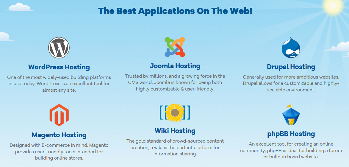 Applications HostGator