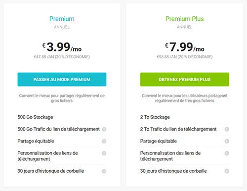 Plans Annuel pCloud