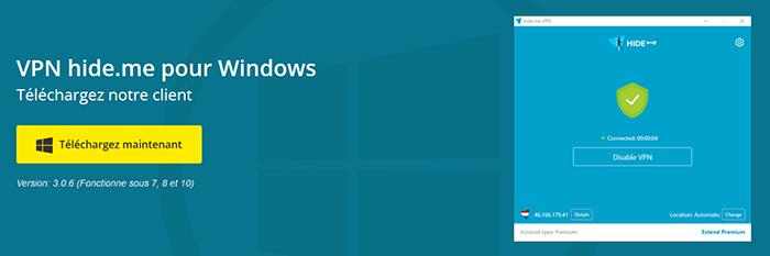 Windows Hideme