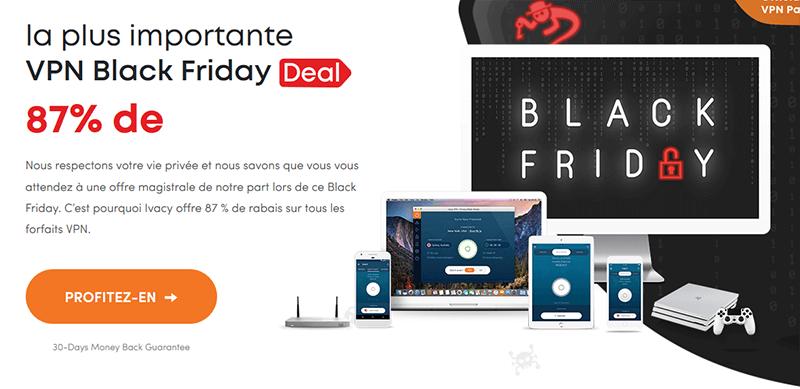 Black Friday Ivacy VPN