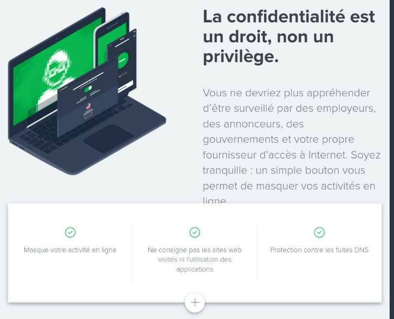 confidentialite avast secureline