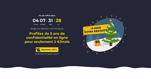 Promotion Noël CyberGhost