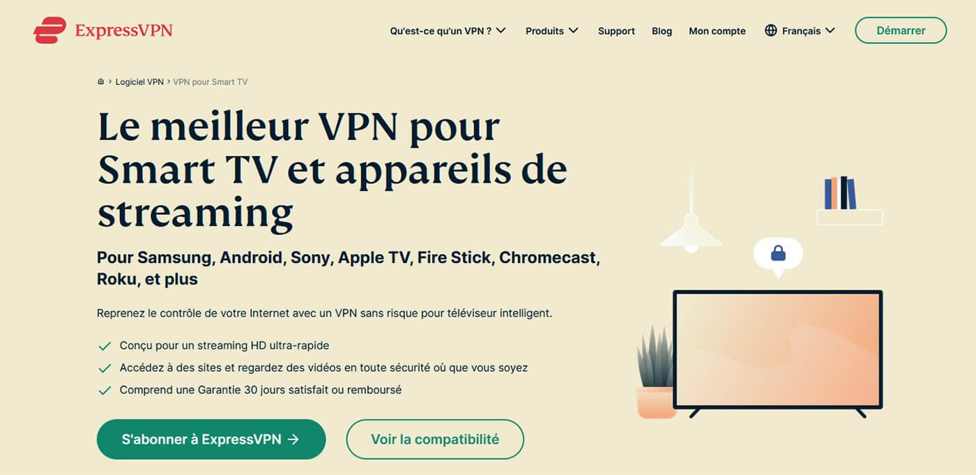 VPN Smart TV ExpressVPN