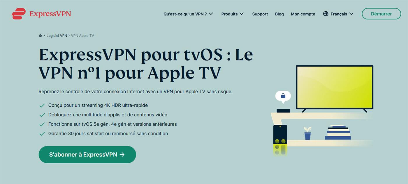ExpressVPN Apple TV VPN