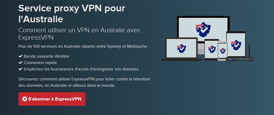 ExpressVPN Australie