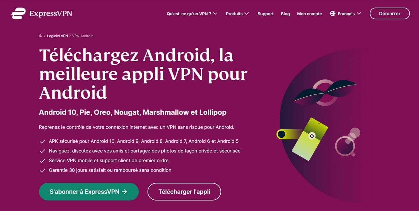 VPN Android ExpressVPN