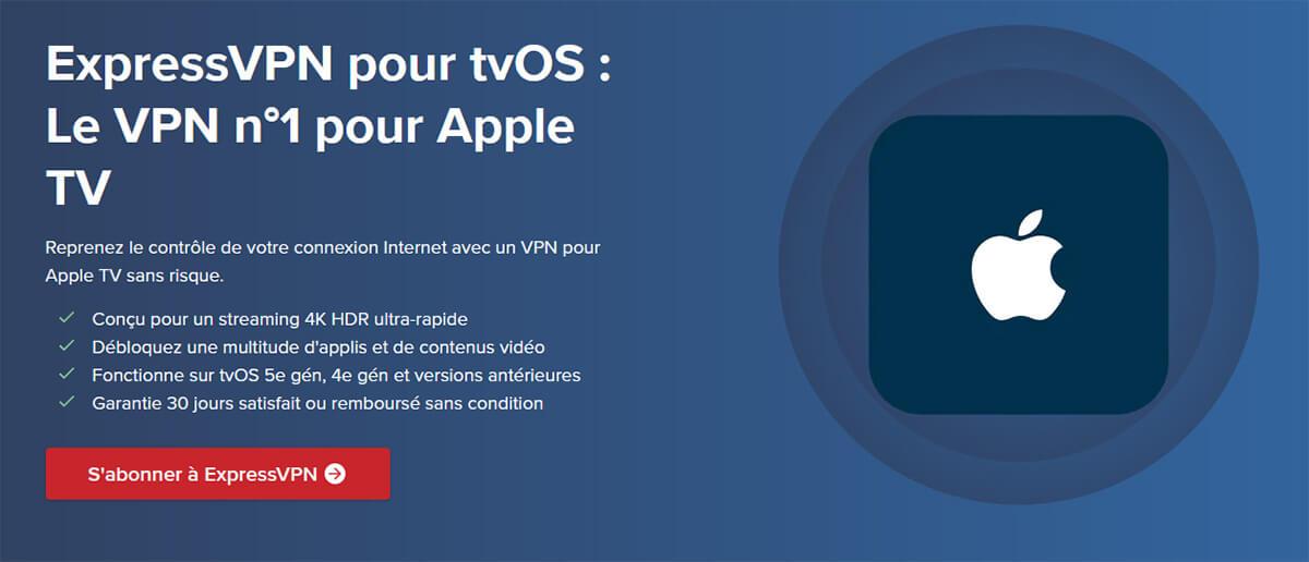 VPN Apple TV ExpressVPN