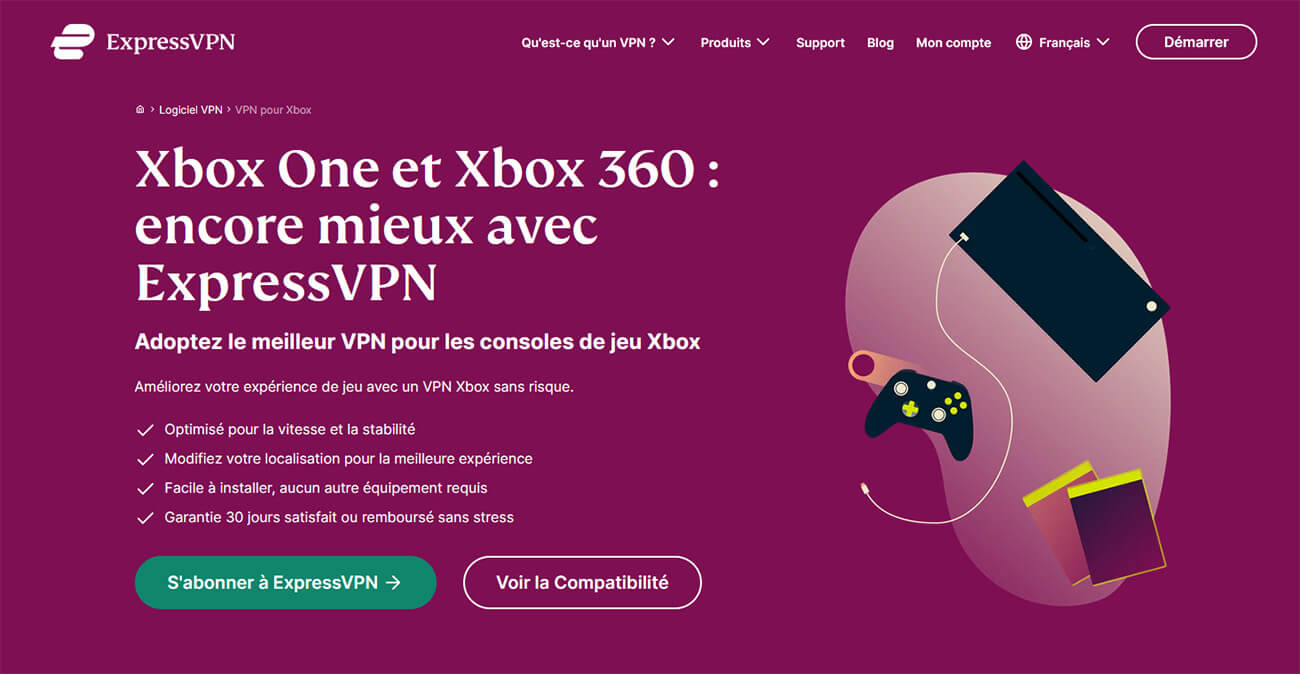 VPN Xbox ExpressVPN
