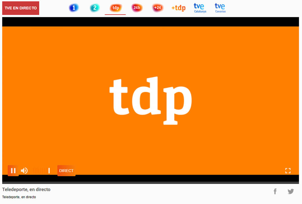 Impossibilité regarder TDP France