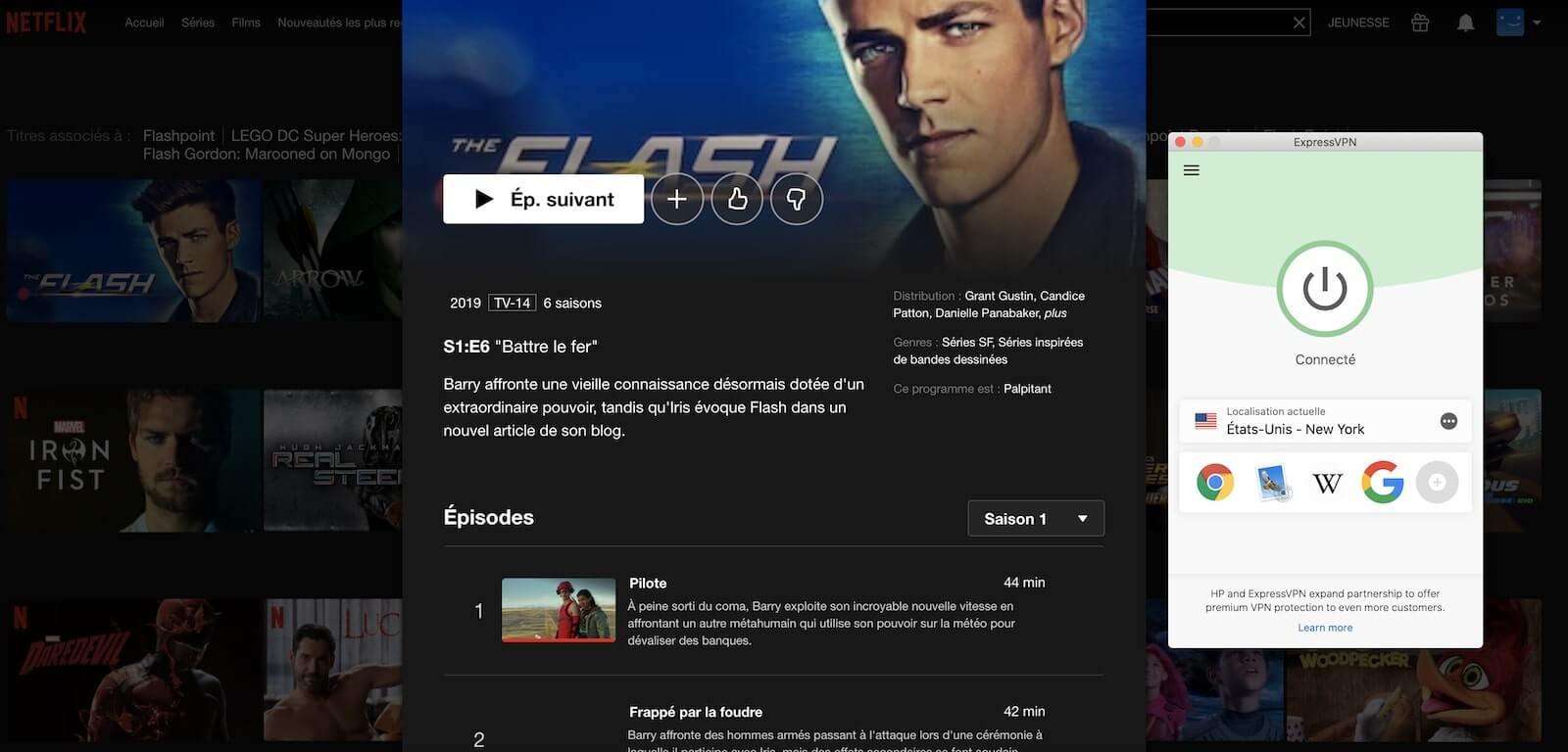 Flash saison 6 sur Netflix