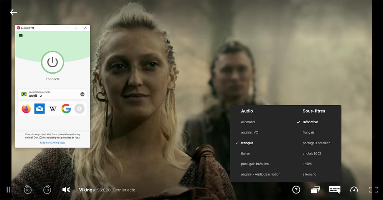 Visionnage Saison 6 Vikings Netflix