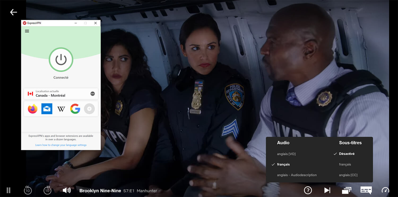 Déblocage Brooklyn Nine-Nine Saison 7 Netflix