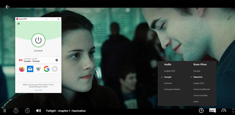 Déblocage Twilight Fascination Netflix
