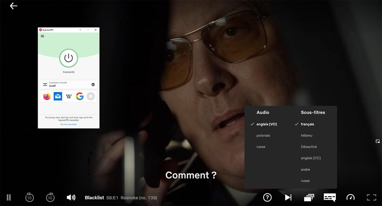 Déblocage saison 8 Blacklist Netflix